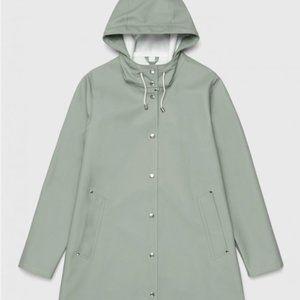 Stutterheim® Mosebacke Raincoat Khaki Green NWT